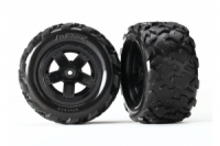 Tires & wheels, assembled, glued (Teton 5-spoke wheels, Teton tires) (2)