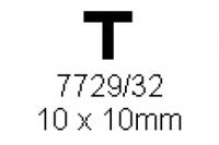 T-Profil 10.0x10.0mm Länge 1000mm