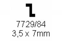 Z-Profil 3.5x7.0mm Länge 1000mm