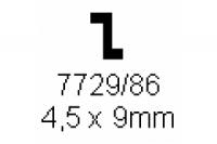 Z-Profil 4.5x9.0mm Länge 1000mm