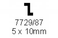 Z-Profil 5.0x10.0mm Länge 1000mm