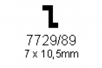 Z-Profil 7.0x10.5mm Länge 1000mm