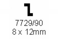 Z-Profil 8.0x12.0mm Länge 1000mm
