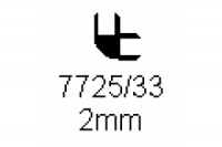Verbinderprofil doppelt 90° 2.0mm Länge 1000mm