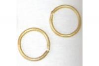 Mantua Ringe, Messing, Ø = 3mm