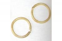 Mantua Ringe, Messing, Ø = 4mm