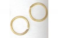 Mantua Ringe, Messing, Ø = 2mm