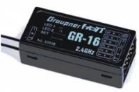 Graupner 2,4GHz Empfänger GR-16 HoTT