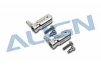 T-REX Hauptrotorblatthalterset Metall silber