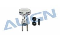 T-REX Hauptrotornabe-Set Metall silber