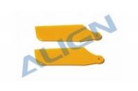 T-Rex Heckrotorblatt-Set gelb