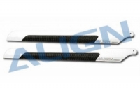 T-Rex CFK Rotorbl.Satz 205D/ 3 mm