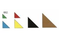 Balsa Dreikantleiste 8 mm x 8 mm x 1000 mm
