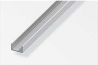 Aluminium U-Profil 10.0mm x 16.5mm x 1000mm