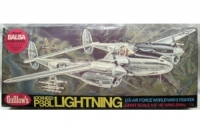 Guillow Bausatz der Lockheed P-38 Lighning