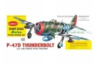 Guillow Bausatz der P-47D Thunderbolt
