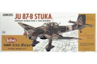 Guillow Bausatz der Junker JU-87B Stuka im Massstab 1:16