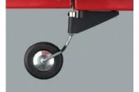 Dubro Heckfahrwerk ohne Rad