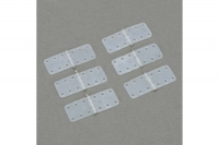 DuBro Scharnier aus Nylon, 11 x 28 mm