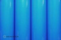 Oracover Bügelfolie blau fluoreszieren