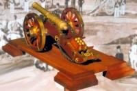 Mantua Bausatz einer napoleonischen Kanone 1:17