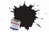 Humbrol Enamel Farbe, 1021 schwarz glanz