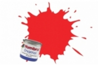 Humbrol Enamel Farbe, 1209 rot fluor glanz