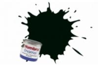 Humbrol Enamel Farbe, 1091 schwarzgrün matt