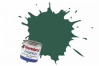 Humbrol Enamel Farbe, 1116 dunkelgrün matt