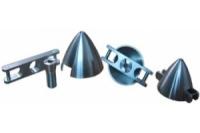 Klassikspinner Alu komplett, 30mm/4mm/8mm