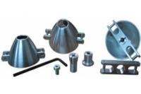 Turbospinner Alu komplett, 50.0mm/6mm/8mm