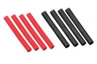 Schrumpfschlauch 100cm schwarz/rot 8.0mm