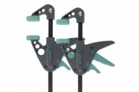 Wolfcraft Mini Einhandzwingen EHZ 40-110, 2 Stück