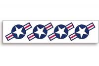 USA selbstklebe Abziebilder 10cm SIG