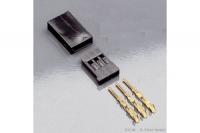 Servostecker Bausatz Stift (Empfängerseite), 10Stk. Futaba