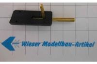 REM Kabinenhaubenverschluss, schwarz, 1 Stk.