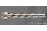 REM Zylinderkopfschraube, M 1,4 x 8 mm,
