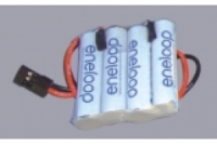 Eneloop Empfängerakku 4.8V / 800mAh, flach