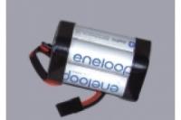 Eneloop Empfängerakku 4.8V / 2000mAh, quadratisch