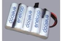 Eneloop Empfängerakku 6.0V / 2000mAh, flach