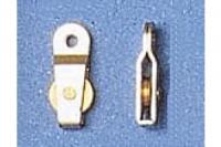 Aeronaut Block mit 1 Rolle 6mm