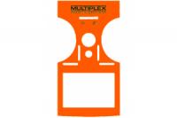Multiplex Dekorbogen COCKPIT SX 7/9 orange