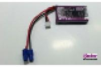 TopFuel LiPo ECO-X 2S 500mAh 20C mit EC-3 Stecker