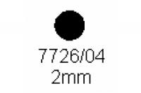 Rundstab 2.0mm, Länge 1000mm