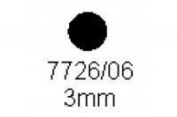 Rundstab 3.0mm Länge 1000mm