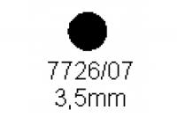 Rundstab 3.5mm Länge 1000mm