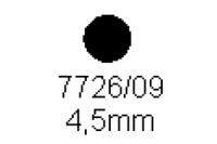 Rundstab 4.5mm Länge 1000mm