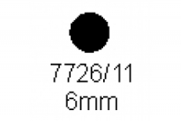 Rundstab 6.0mm Länge 1000mm
