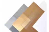 Aeronaut Polystyrolplatte gold 1.0mm
