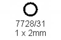 Rohr 1.0x2.0mm Länge 1000mm